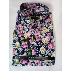 AVA Cool Flower Design Men Shirt