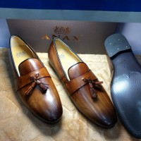 Anax Brown With Teasel Men Shoes