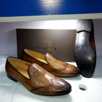 Anax Simple Brown Men Shoes