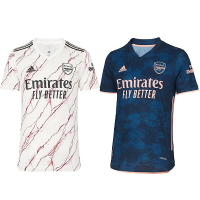 Arsenal Away and Third Male Jersey 2020_2021 - COMBO | BLACK FRIDAY DEAL