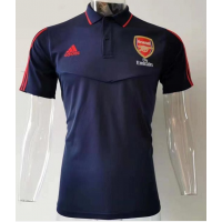 Arsenal Crest BLUE Polo Shirt 2019-20