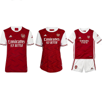Arsenal Home  Jersey 2020_2021  - FAMILY COMBO