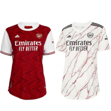 Arsenal Home and Away   Female Jersey 2020_2021 - COMBO