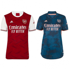 Arsenal Home and Third Female Jersey 2020_2021 _ COMBO