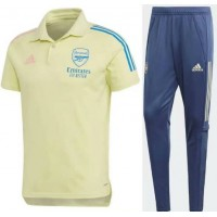 Arsenal Tracksuit - Yellow Blue