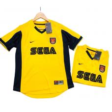 Arsenal Away Retro Jersey Yellow -R10