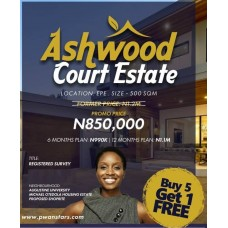 Ashwood Court | Buy A Land at Epe