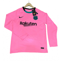 Barcelona Away Male Long Sleeve Jerseys