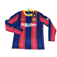 Barcelona Home Male Long Sleeve Jerseys