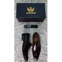 Bonacorso Gleaming Wine Men Shoes