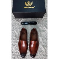 Bonacorso Modish Wine Men Shoes