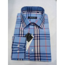 Bosch Light Blue Stripes Office Men shirt - Slim Fit