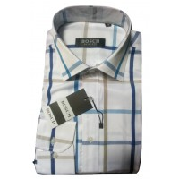Bosch Office White Men Shirt