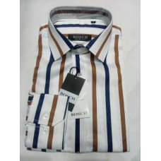 Bosch Stripes office Men Shirt - Slim Fit
