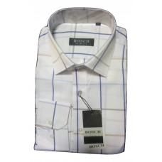 Bosch White Strioes Office Shirt