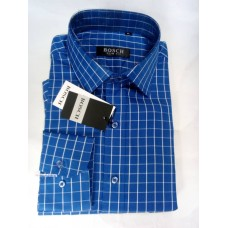 Bosch Tiny Blue Stripes Office Men Shirt