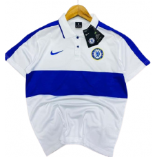 Chelsea Polo Shirt 2020-2021__WHITE