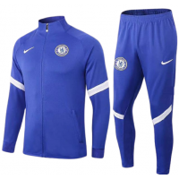 Chelsea Tracksuit 2020-21- Blue_wt_White touch