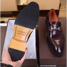 Gucci Classic Brown Beauty Men's Shoes
