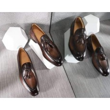 Classic Brown with Teasel Men Shoes