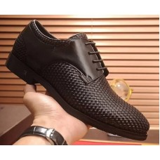 Louis Vuitton Classic Black LaceUp Men's Shoes