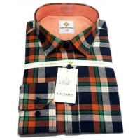 Colourful Office Long Sleeve Men Shirt