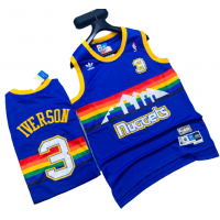 Denver Nuggets Basketball Jersey - Allen IVERSON