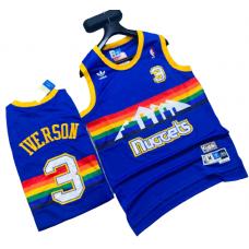Denver Nuggets Basketball Jersey - Allen IVERSON