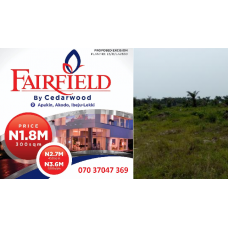 FAIRFIELD BY CEDARWOOD - IBEJU LEKKI