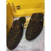 FENDI TOP STYLISH DESIGN MEN SHOES -HALF HALVES SHOES