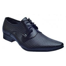 Formal Fish Leather Shoe - Black