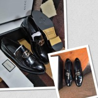 Gucci Corporate Men Shoes - BLACK