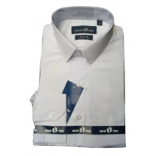 Hang Ten Office White Long Sleeve Men Shirt