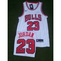 ICONIC BasketBall Jersey White - JORDAN | Bulls