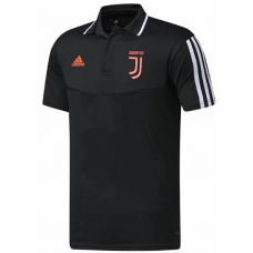 JUVENTUS BLACK POLO SHIRT 2019-20