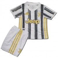 JUVENTUS HOME KID JERSEY 2020-2021