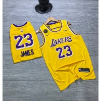 Lakers NBA Basketball Jersey - LEBron James