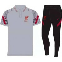 Liverpool  Tracksuit - White Black