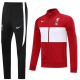 Liverpool Training Suit 2020-2021 _ BlacknRed wt White