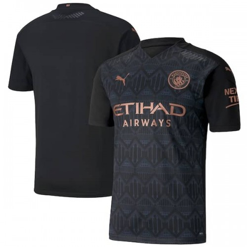 Manchester City Away Male Jersey 2020_2021   New Season Jersey
