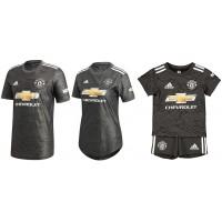 Manchester United Away Jersey 2020-2021 - FAMILY COMBO | BLACK FRIDAY DEAL