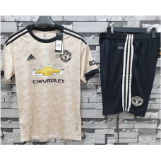 Manchester United Away Jersey and Shorts 2019-20 Season