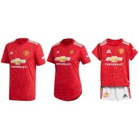 Manchester United Home Jersey 2020_21 - Family COMBO | BLACK FRIDAY DEAL