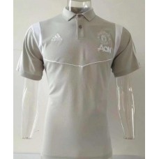 Manchester United Official Polo Shirt 2019_2020 | Grey