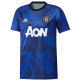 Manchester United Pre Match Jersey - Blue