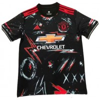 Manchester United Training Jersey 2020-21_ BLACK