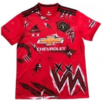 Manchester United Training Jersey 2020-21_ RED