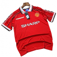 Manchester United 1989_1990 Treble Winning Season Jersey _ Retro Jersey