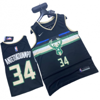 Milwaukee Bucks Basketball Jersey - Giannis Antetokounmpo