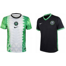 NIGERIA 2020 HOME & AWAY JERSEYS - NEW NIGERIA JERSEY COMBO